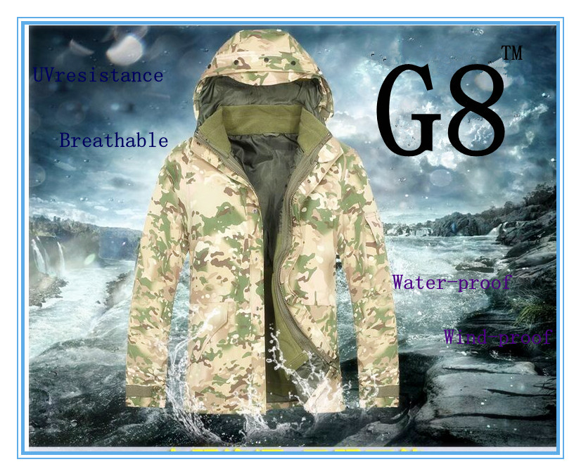 Whole Sale hot sales US Military Style G8 Water proof wind proof Jacket XXXL SIZE