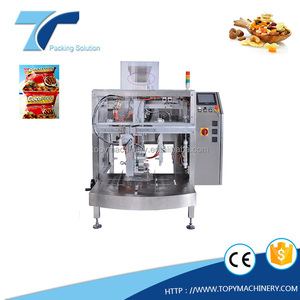 CE Approved Low Price Automatic Plastic Pouch Molasses ShiSha Tobacco Pouch Vegetable Filling and Packing Machine