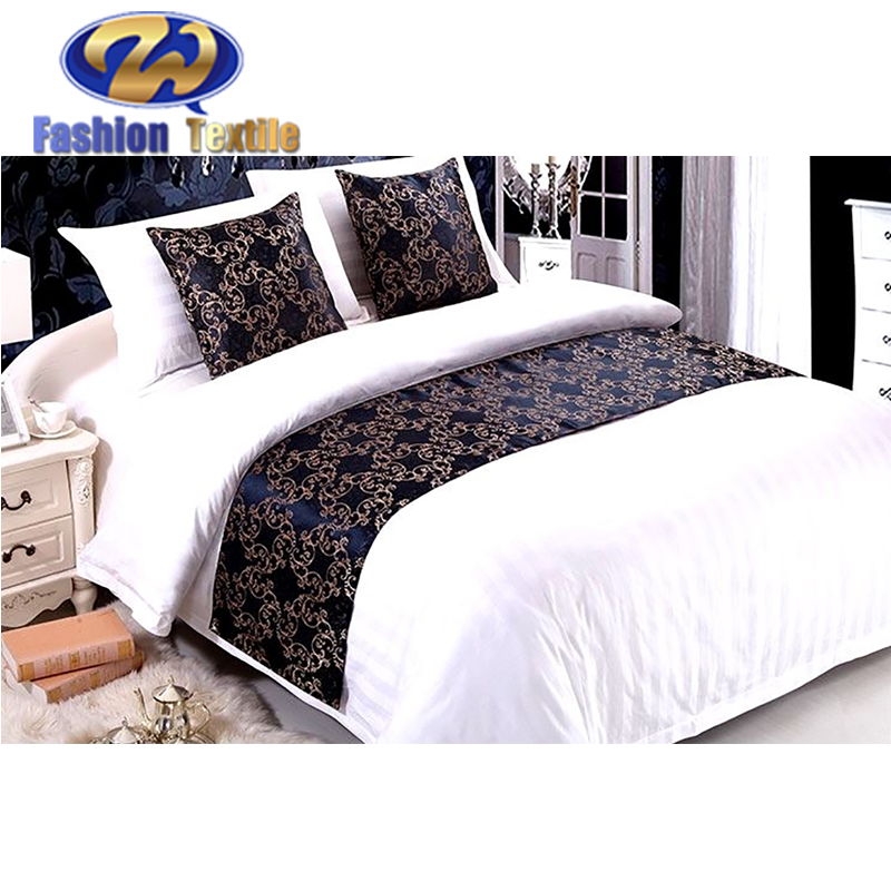 Hotel bed runner and cushion set for sale