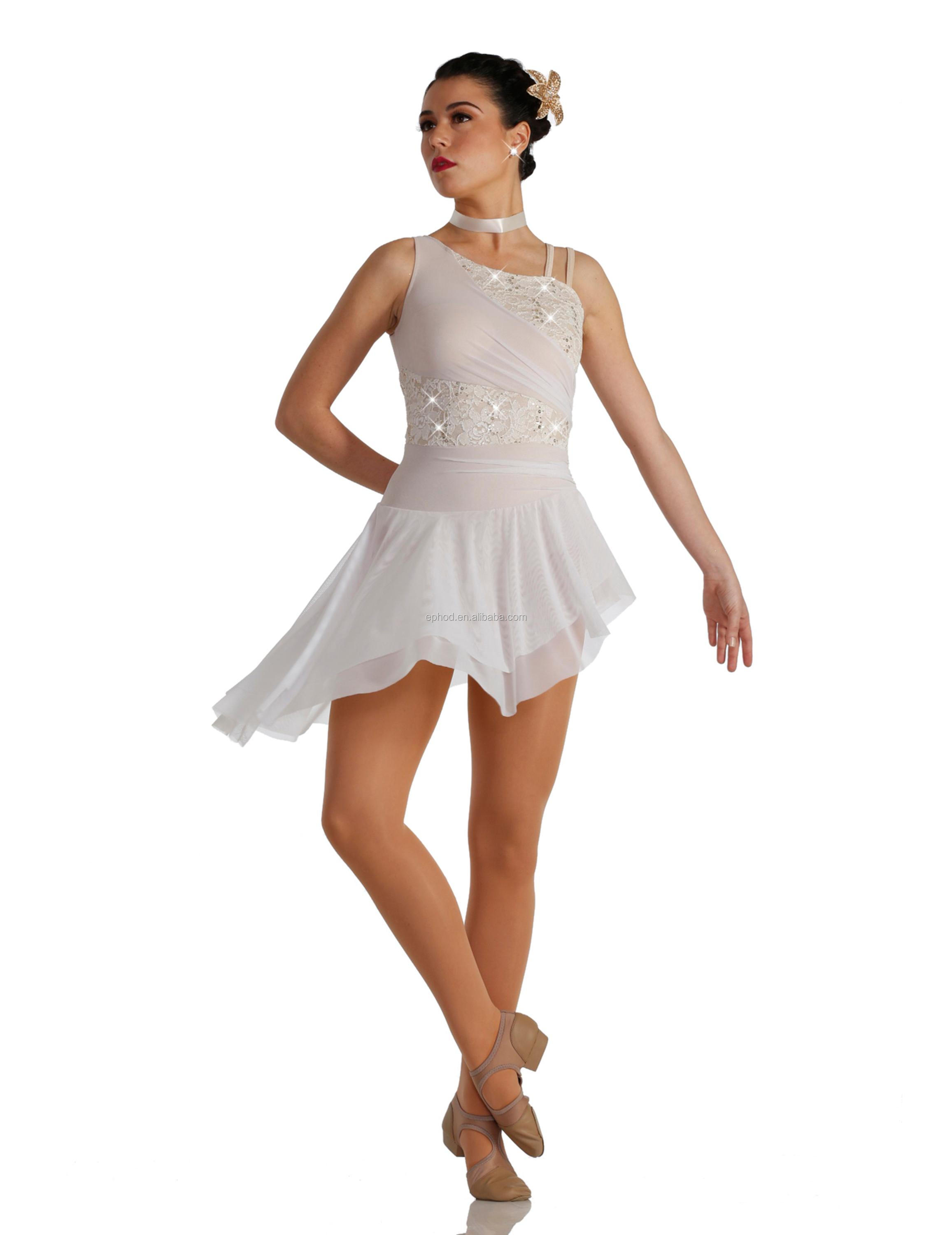 2018 nuovo lyrical costume/chiffon costumi/lyrical costume epl18-027