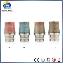 Sailing vaping supplies 510 wood drip tip e cigarette, stab wood drip tip with cheap price