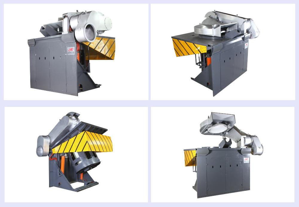3 Ton Magnetic Yoke Electric Induction Iron Melting