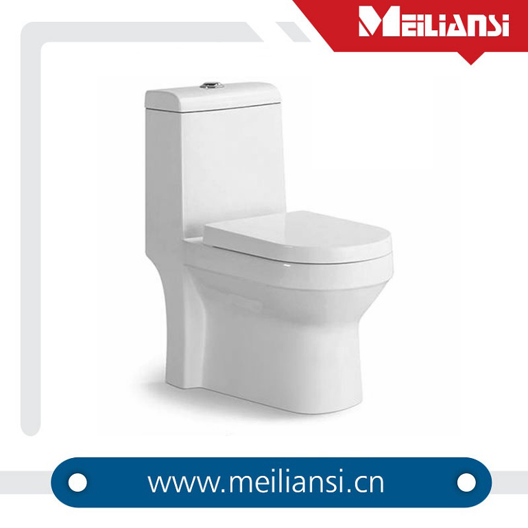 Floor Mounted CUPC One Piece White Glazed S Trap toilet seat cover yiwu