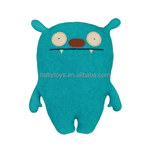 OEM plush monster stuffed green cartoon soft toy