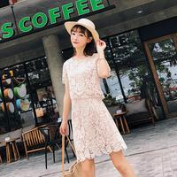 high quality korean dresses skirt and blouse small order quantity clothing brand names china factory dress women 2018