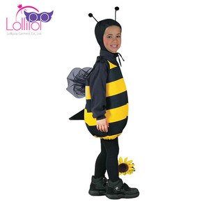 Professional custom bee costume for kids girls costumes bee