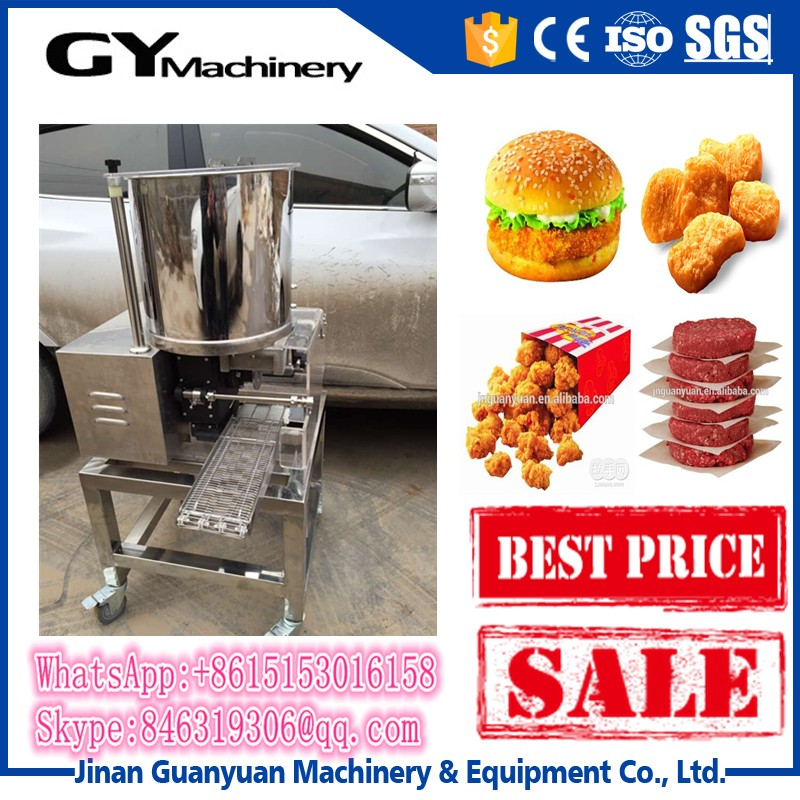 Fast food restaurant good machine for making burger patty