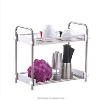 S/S+ABS 30.5*16.5*38.5 Kitchen tools storage rack/dish drying rack/drying rack