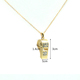 wholesale new model diamond gemstone whistle shape doll pendant necklace chain