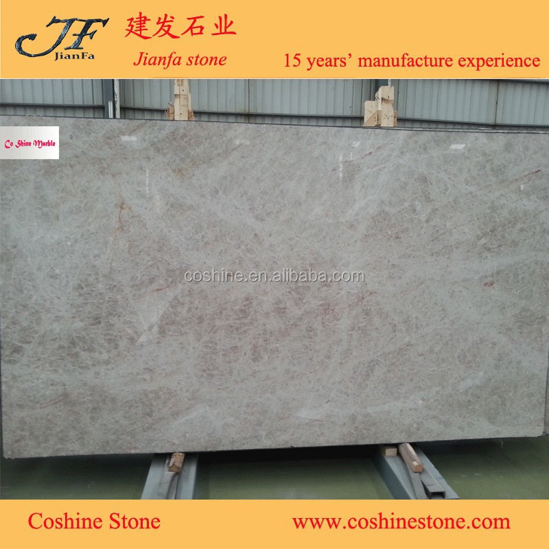 Natural stone crystal white quartz slab