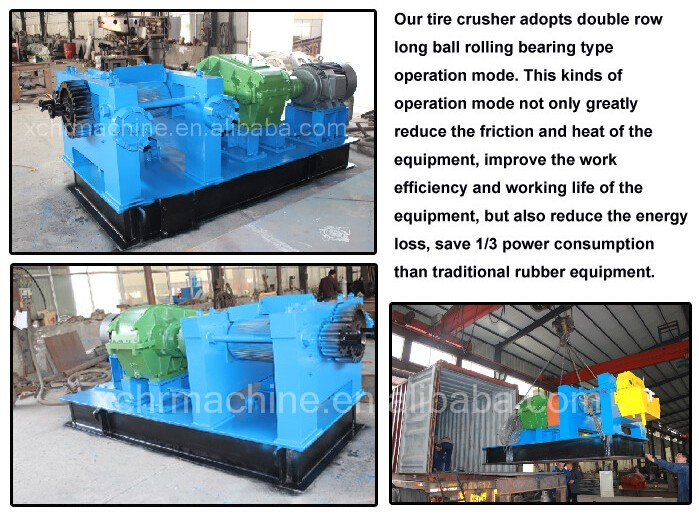 Waste Tire Recycling Plant / Tire Recycling Rubber Powder ...