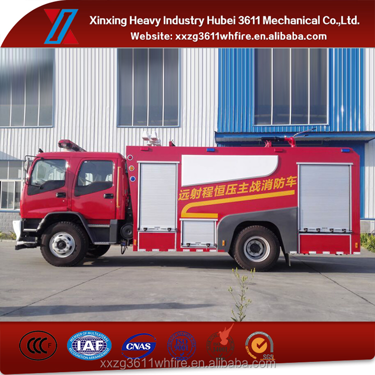 New Products Emergency Rescue Remote Constant-pressure Fire Fighting Truck Order From China Direct