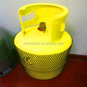Different Sizes Seamless Liquefied Petroleum Gas LPG Used Tank