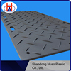 UHMWPE construction road mat / HDPE black plastic ground sheet