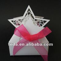 Big Star Party Shower Favor Gift Candy Boxes Craft