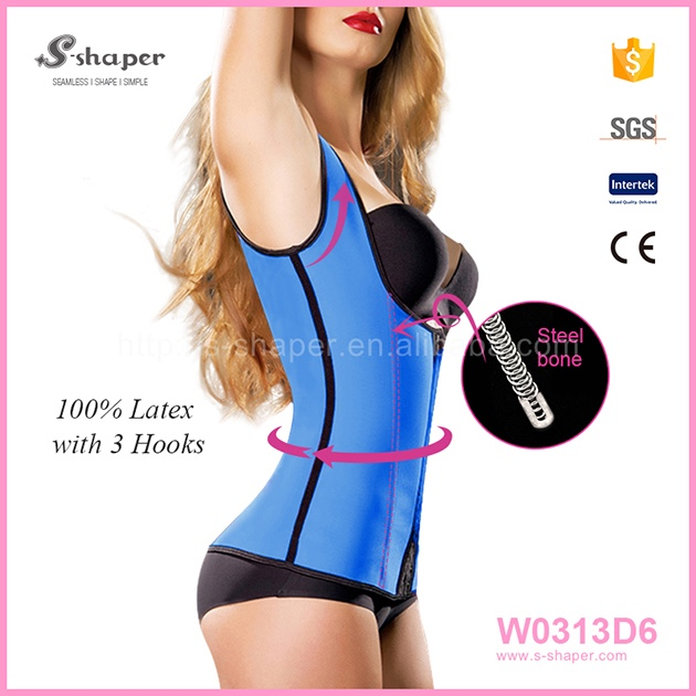 Big Stock Sport Latex Waist Trainer Corsets W0313D6