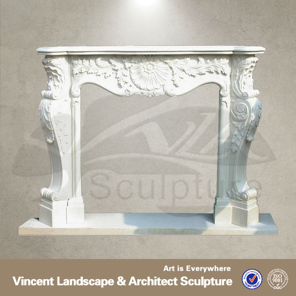 High quality stone fireplace for home decor VFM-NB010A