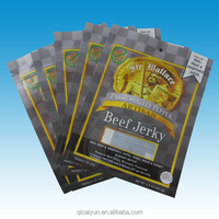 friendly printed snack food packaging bag/ beef jerky bag