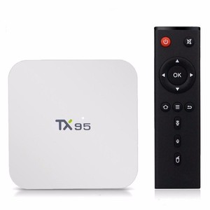 Newest amlogic s905w linux iptv set top box dual band wifi tx95 android tv  box gps