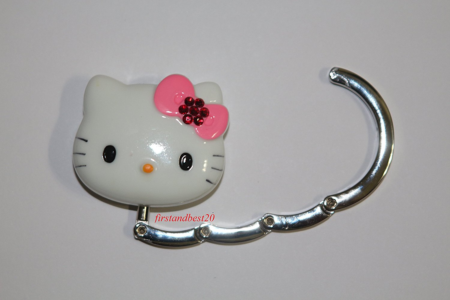8ffa0bfd9539 LOVEKITTY 3D Fully Blinged Out Foldable Hello Kitty Inspired Purse Holder