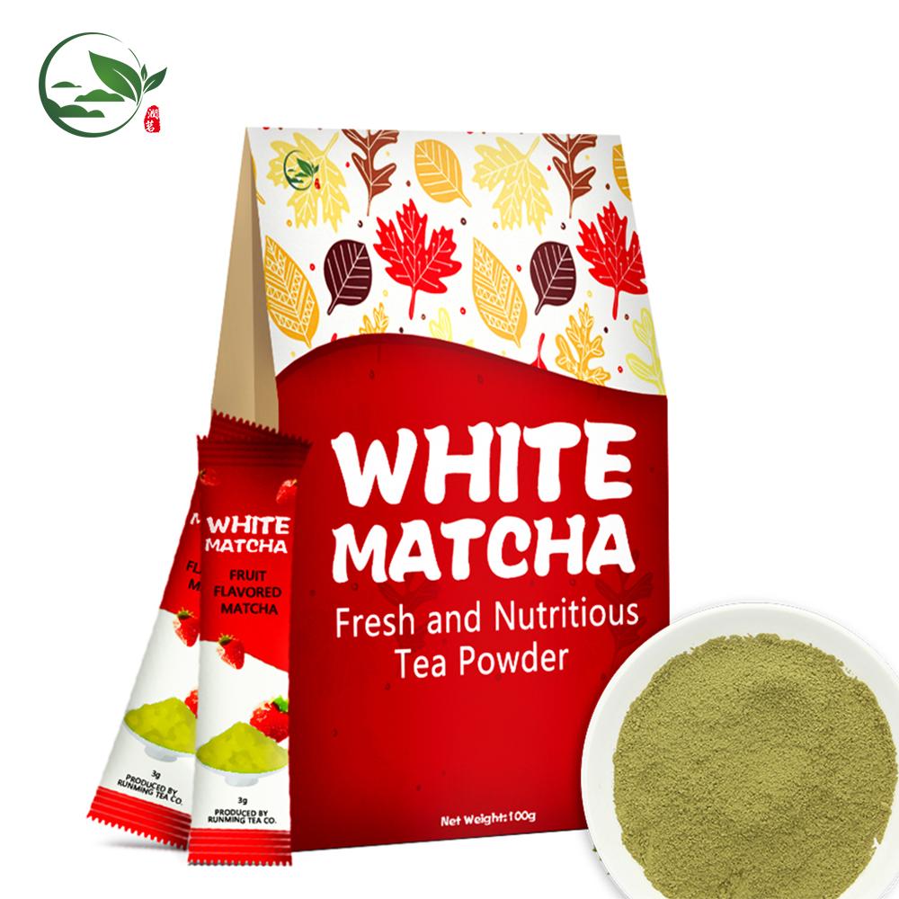 High Quality Premium Instant Chai Milk Cap Tea Detox Pure Caffeine Organic White Tea Matcha Extract Powder for Bubble Tea - 4uTea   4uTea.com