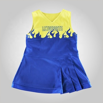 Hot Sale Sublimation Women Dresses Classic Style Sexy Cheerleading Uniforms