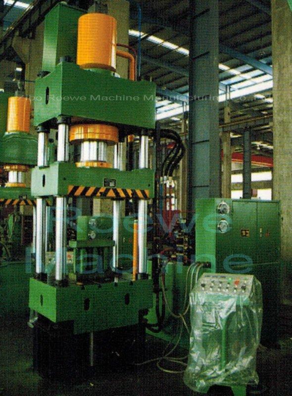 4 spalte bei 1000 tonnen hydraulische presse Lochende
