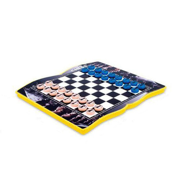 Draft 4 In 1 Papan Catur Catur dengan Magnetic