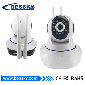Hot sale Wifi Wireless IP Camera Wireless cheapest 720p smart home wifi ip ptz cctv camera support two way audio and p2p