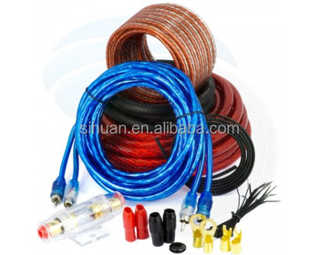 New Professional Quality 4 Gauge Wiring Kit For Car Amplifier/4 Awg on