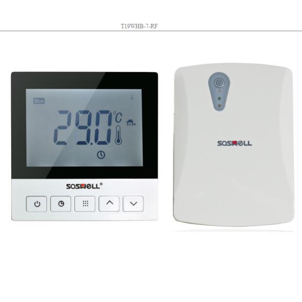 opentherm 868 mhz numérique sans fil thermostat d'ambiance pour