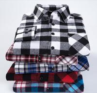 sales femel men ladies 3xl 4xl western flannel tartan plaid shirt