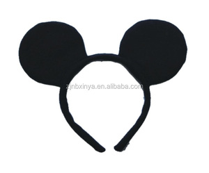 Halloween Fancy Dress Up Costume Mickey And Minie Mouse Ears Headband Party