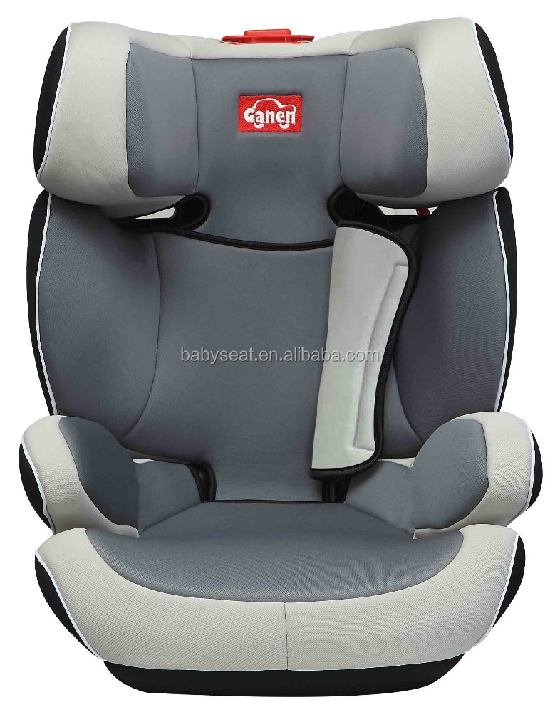 child booster cushion, booster car seat with ECE R44/04 certification (group 2+3), for 3-12 years old baby, 15-36kgs
