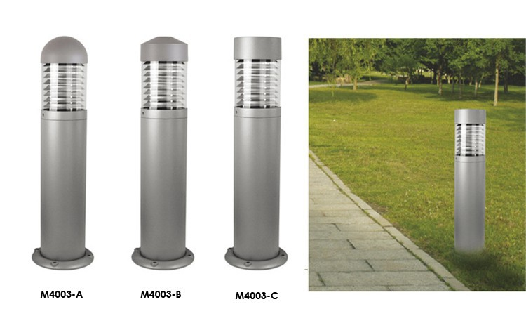Outdoor Waterproof Ip65 Aluminum Cylinder Courtyard Landscape Lawn ...