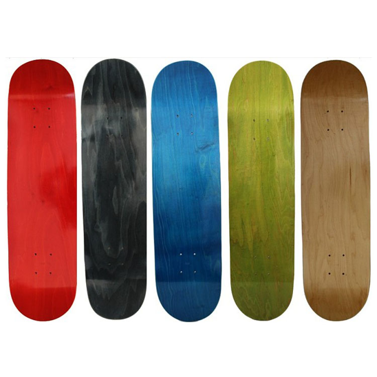 customized professional maple skateboard deck 8.0 wholesale dye color