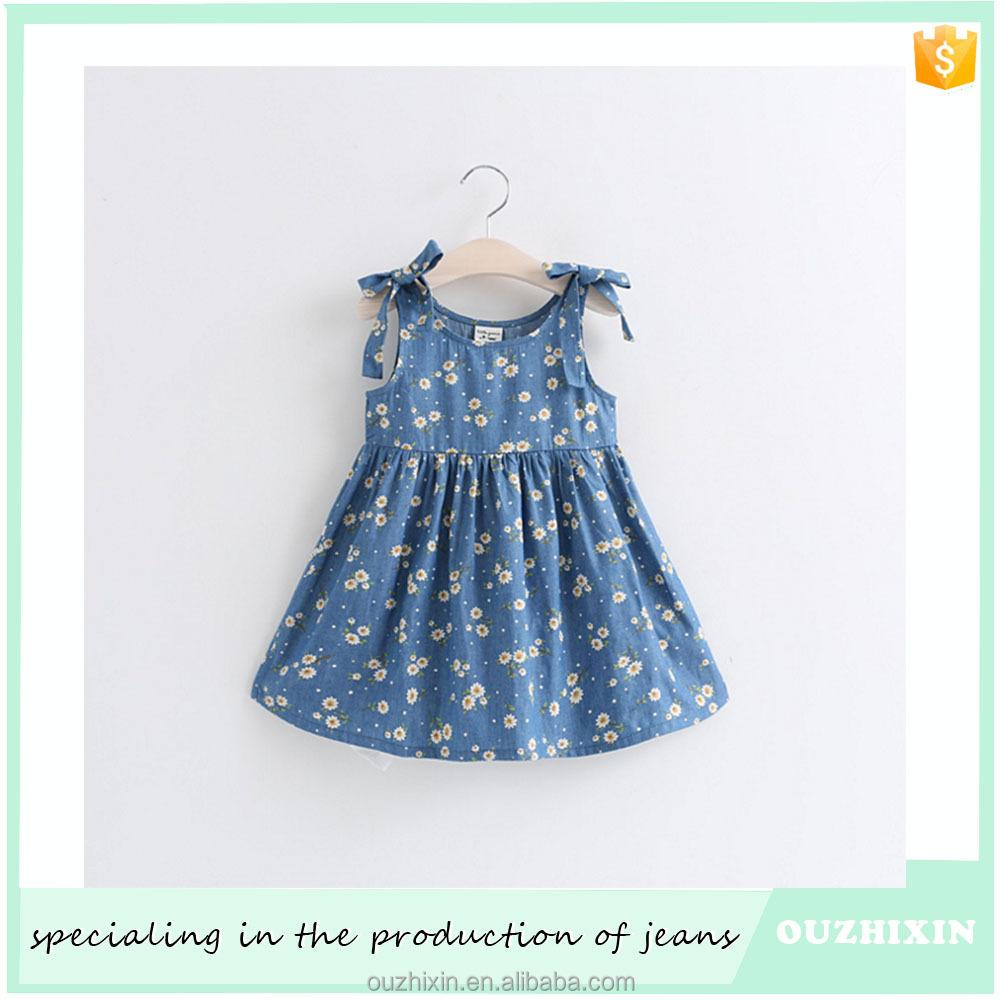 Venta al por mayor diferentes estilos de vestidos para niña fashion ...