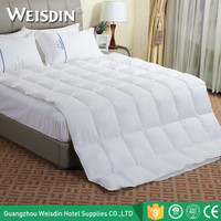 China supplier hotel feather down alternative comforter cotton quilt duck down duvet