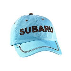 Get Quotations · Subaru Ladies Contrast Stitch Cap Hat Legacy Forester  Impreza Wrx Sti Outback b057da9e9332