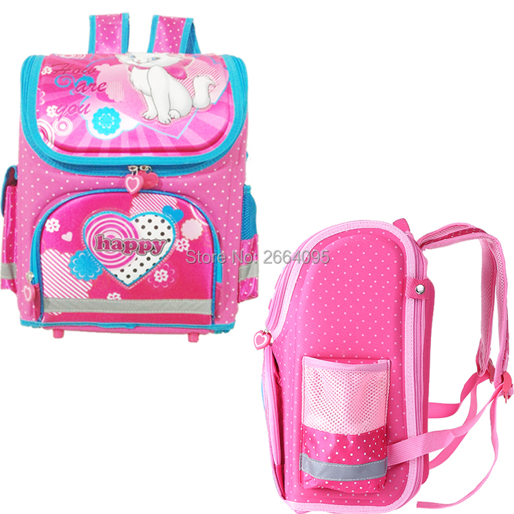 92dcee66c3ce wenjie brother Kids butterfly Schoolbag Backpack EVA Folded Orthopedic  Children School Bags For Boys and girls Mochila Infantil