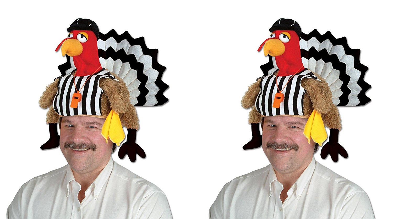 Beistle S60201AZ2 Plush Parrot Hat 2 Piece Multicolored