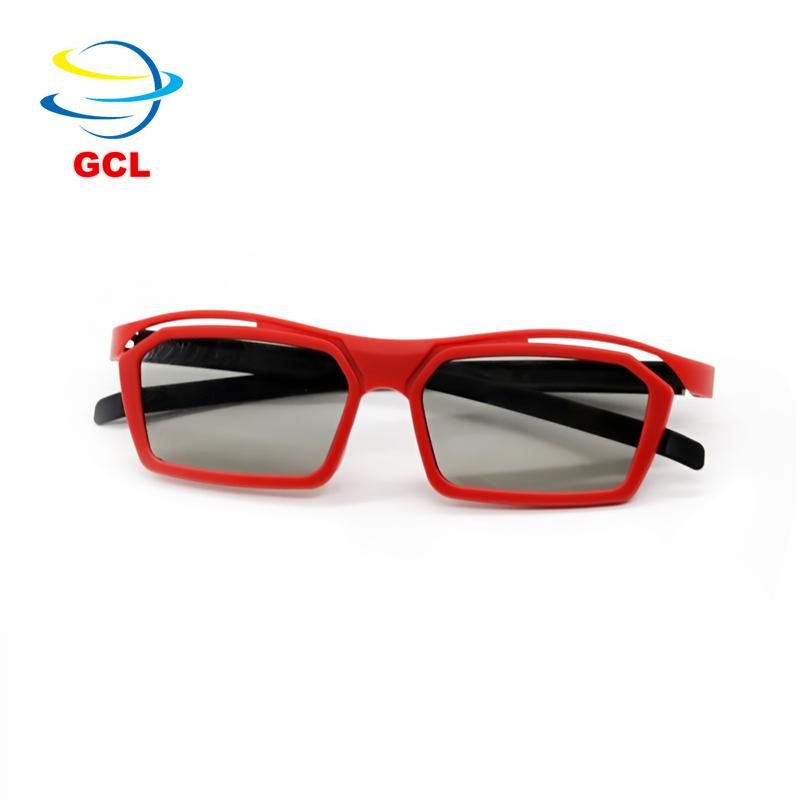de379dcf12cd8c Goedkope oem aangepaste logo beste passieve 3d gepolariseerde bril voor 3d  cinema