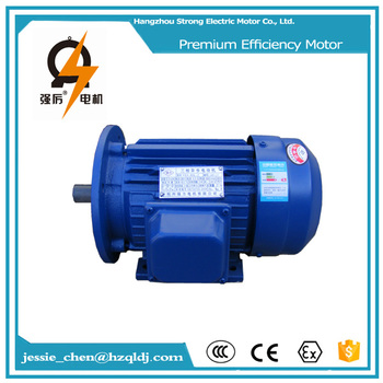 5 Hp Small 3 Phase Induction Electric Motors For Sale