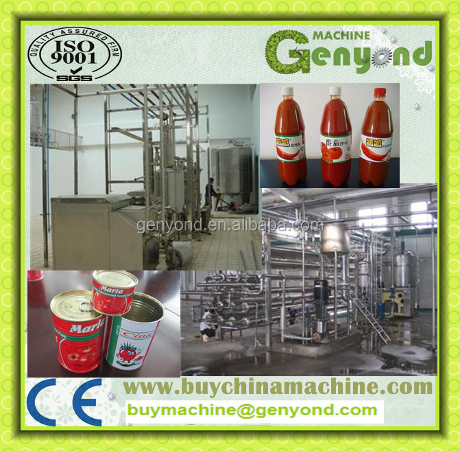 factory price automatic tomato sauce/tomato paste /pasta sauce canning machine