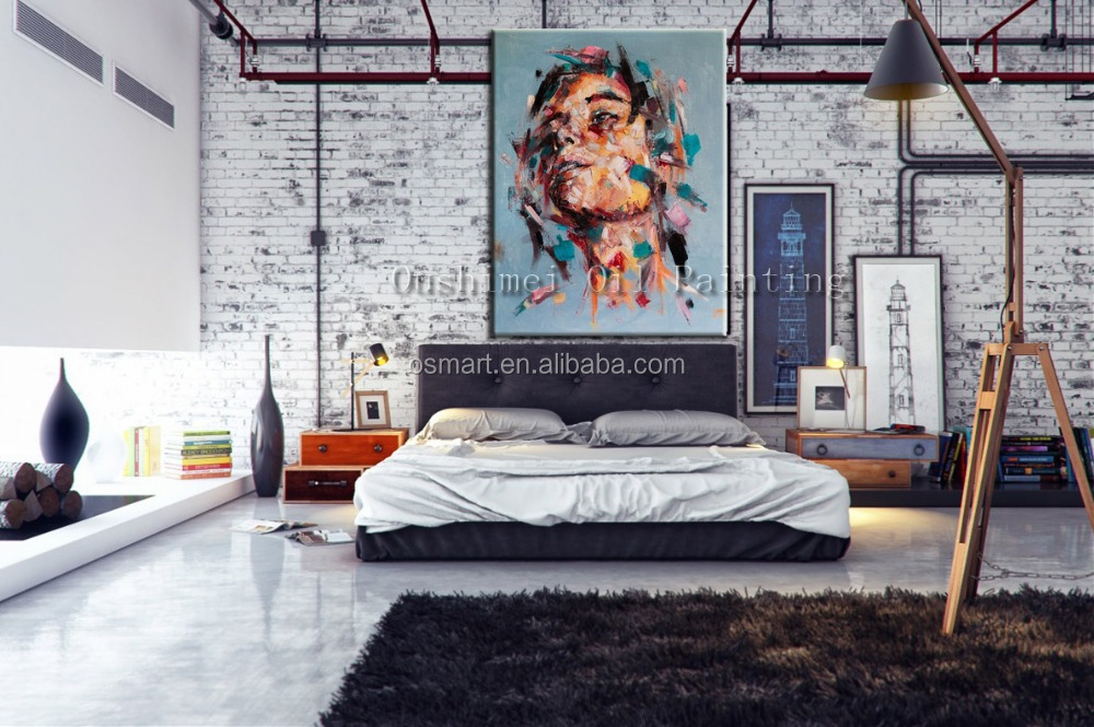 Abstract Oil Paintings Modern Figures Decoration Oil Painting Man Face Canvas Oil Painting Decorative Pictures For Living Room Buy Abstract Oil Paintings Modern Figures Decoration Oil Painting Man Face Canvas Oil Painting Decorative