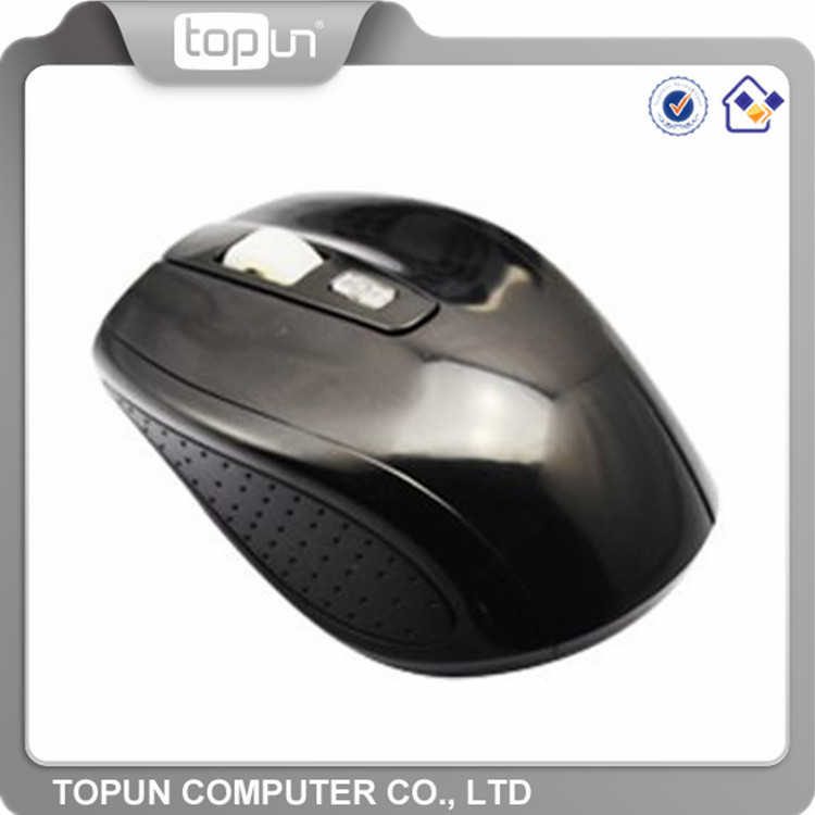 Wholesale OEM branded cheap unique 2.4g wireless mouse / wireless keyboard mouse red black