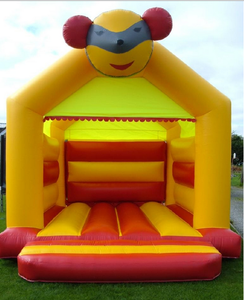 factory price wholesale yellow inflatable bouncy castle/ moon bounce house/ inflatable jump castle bouncer for wedding