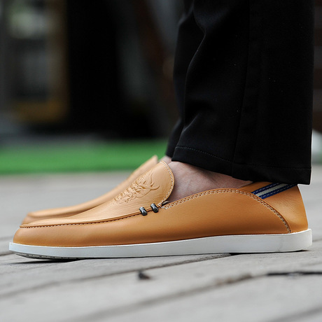 Soft soles of English style shoes