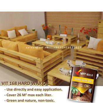 Hard Wax Oil Wood Teak Paint