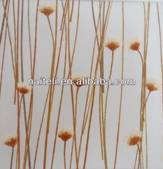 daisy flower laminated decorative acrylic bathroom wall panels